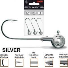 Jig Jaxon Sumato Silver, carlig nr.6/0, 25gr