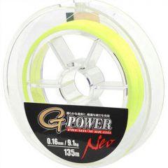 Fir textil Gamakatsu G-Power Premium Yellow 0.09mm/6.3kg/135m