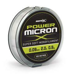 Fir monofilament Matrix Power Micron X 0.10mm/1.1kg/100m