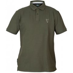 Tricou Fox Collection Polo Green&Silver, marime XXXL