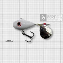Bertilure Fish Helic Nr.4, culoare Alb, 21gr