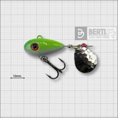 Bertilure Fish Helic Nr.4, culoare Alb-Galben Fluo, 21gr