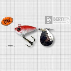 Bertilure Fish Helic Nr.3, culoare Red Black, 14g