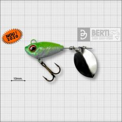Bertilure Fish Helic Olympic Nickel Nr.3, culoare White Chartreuse