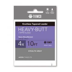 Fir fluorocarbon Tiemco Heavy Butt Leader 3X 10ft