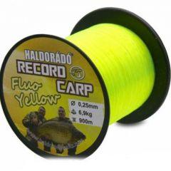 Fir monofilament Haldorado Record Carp Fluo Yellow 0.22mm/5.8kg/900m