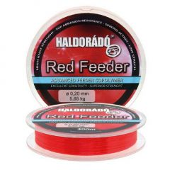 Fir monofilament Haldorado Red Feeder 0.25mm/7.52kg/300m