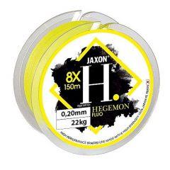 Fir textil Jaxon Hegemon 8X Fluo Yellow 0.14mm/15kg/150m