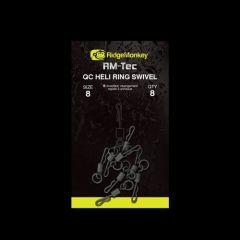 Varteje RidgeMonkey RM-Tec Quick Change Heli Ring nr.8