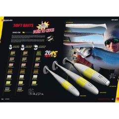 Shad Herakles SHAD-OW85 8.9cm - Chartreuse Impact