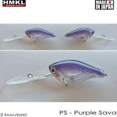 Vobler HMKL Crank 33DR SP(Custom Painted) 3.3cm/3.3g Purple Sava