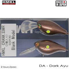 Vobler HMKL Crank 33MR 3.3cm, culoare DA
