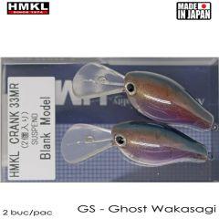 Vobler HMKL Crank 33MR 3.3cm, culoare GW