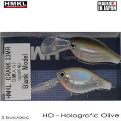 Vobler HMKL Crank 33MR 3.3cm, culoare HO