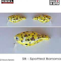 Vobler HMKL Crank 33TR F(Custom Painted) 3.3cm/3.3g Spotted Banana