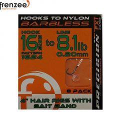 Carlige Legate Frenzee 1624 Nylon Eyed/Bait Spike nr.12/9.9lb