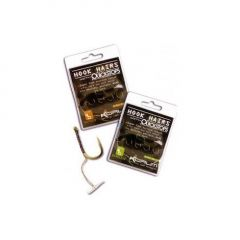 Carlige Korum Hook Hairs With Quickstops nr.10