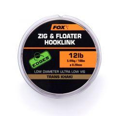 Fir monofilament Fox Edges Zig & Floater Hooklink 0.30mm/100m