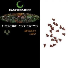 Gardner Hook Stops - Brown