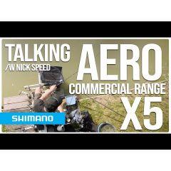 Lanseta feeder Shimano Aero X5 Distance Heavy Power Feeder 3.96m/150g