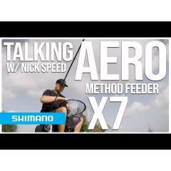 Lanseta feeder Shimano Aero X7 Finesse Feeder 2.74m/50g