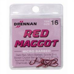 Carlige Drennan Red Maggot Nr.18
