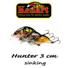 Vobler Kenart Hunter 3cm, culoare RH