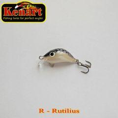 Vobler Kenart Hunter F 2cm, culoare R