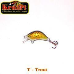 Vobler Kenart Hunter F 2cm, culoare T