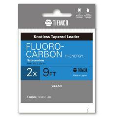 Fir fluorocarbon Tiemco Hi-Energy Leader 5X 9ft