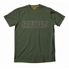 Tricou Navitas Infill Tee Green, marime M