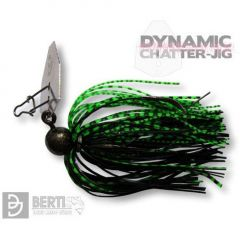 Bertilure Dynamic Chatter-Jig Nr.4/0, 7g culoare Green Perch