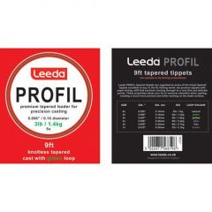 Fly Leader Leeda Profil Tapered 2lb/9ft