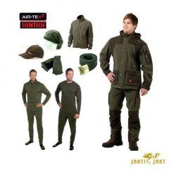 Costum Jahti Jakt Thorn verde (11 piese), marime XL