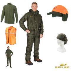 Costum Jahti Jakt Rosto Premium verde (8 piese), marime XL
