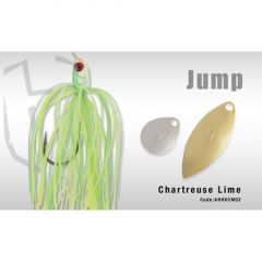 Colmic Herakles Spinnerbait Jump 10.5gr - Chartreuse Lime