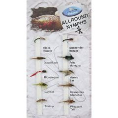 Set Muste Dragon Tackle Allround Nymphs