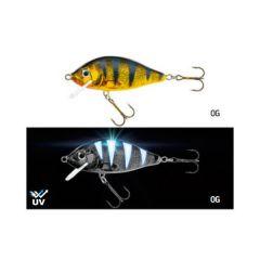 Vobler Jaxon Holo Select Karas UV 8cm/13g F, culoare OG