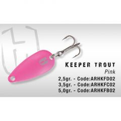 Lingura oscilanta Colmic Herakles Keeper Trout 5gr Pink