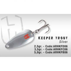 Lingura oscilanta Colmic Herakles Keeper Trout 5gr Silver