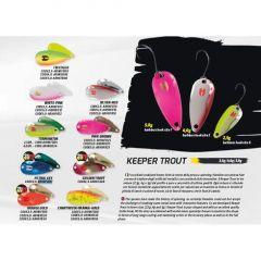 Lingura oscilanta Herakles Keeper Trout  5g - Pink Brown