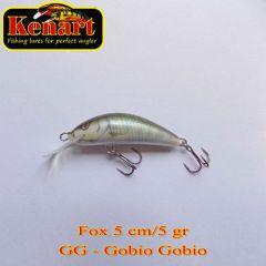 Vobler Kenart Fox F 5cm, culoare GG