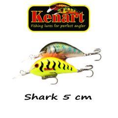 Vobler Kenart Shark 5cm, culoare GT