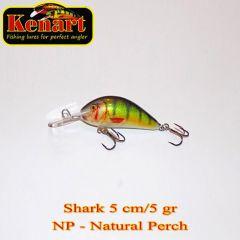 Vobler Kenart Shark F 5cm, culoare NP