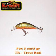 Vobler Kenart Fox F 5cm, culoare TR