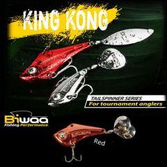 Cicada Biwaa King Kong Tailspinner 14gr, culoare Red