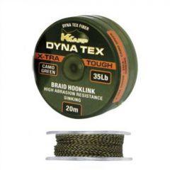Fir textil K-Karp Dynatex X-Tra Tough 45lbs, 20m - Camou Green