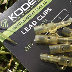 Kodex Lead Clips Mud Brown
