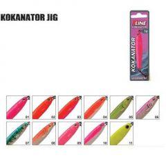 Pilker P-Line Kokanator Jig 14gr, culoare 01