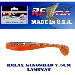 Shad Relax King Shad Laminat 7.5cm, culoare 610 - 10buc/plic